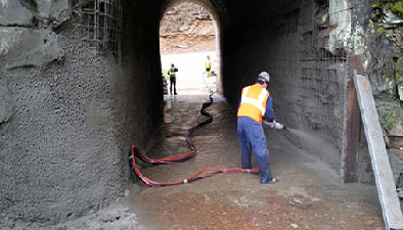 Refractory - Shotcrete & Gunite